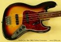 Fender Jazz Bass 1966 Fretless Conversion top