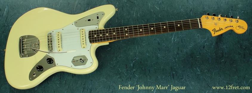 Fender Johhny Marr Jaguar full front