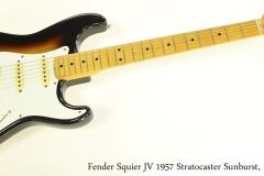Fender Squier JV 1957 Stratocaster Sunburst, 1982 Full Front View