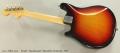 Fender 'Mandocaster' Mandolin Sunburst, 1972 Full Rear View