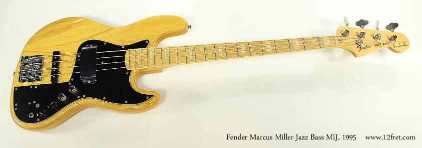 Fender Marcus Miller Jazz Bass MIJ, 1995 Full Front View