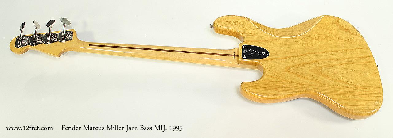 Fender Marcus Miller Jazz Bass MIJ, 1995 Full Rear View