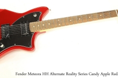Fender Meteora HH Alternate Reality Series Candy Apple Red, 2019 Full Front View