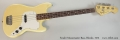 Fender Musicmaster Bass, Blonde, 1975 Full Front View