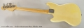 Fender Musicmaster Bass, Blonde, 1975 Full Rear View