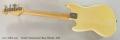 Fender Musicmaster Bass, Blonde, 1975 Full Rear View
