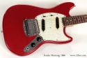 Fender Mustang Dakota Red 1966 top