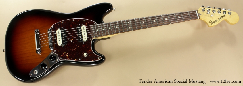 Fender American Special Mustang full front