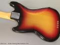 Fender Mustang Bass Sunburst, 1971 Back