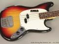 Fender Mustang Bass Sunburst, 1971 Top