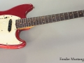 Fender Mustang, Red, 1965 Full Front View