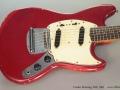 Fender Mustang, Red, 1965 Top