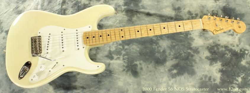 Fender Custom Shop NOS 1956 Strat 2000 full front view