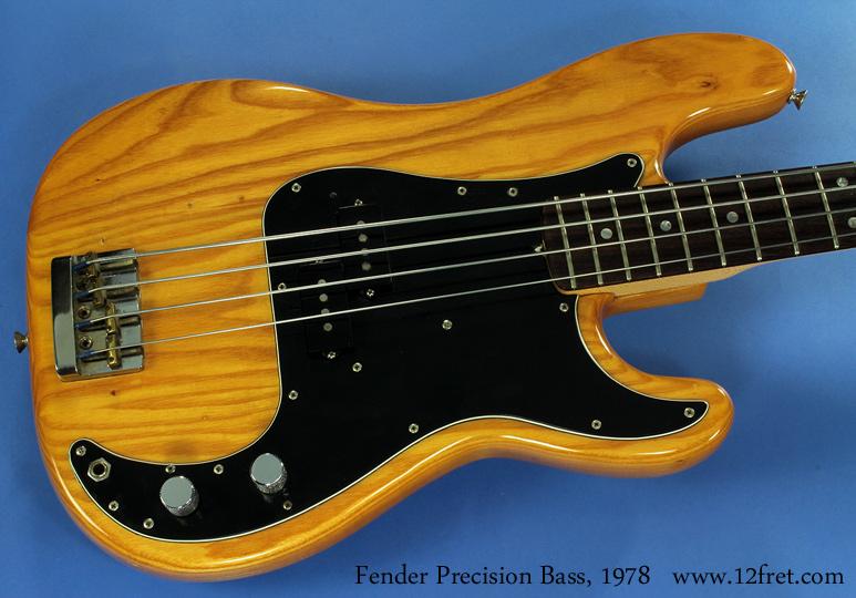 Fender Precision Bass, 1978 top