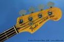 Fender Precision Bass, 1978 head front