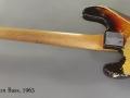 Fender Precision Bass 1963 full rear view