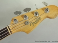 Fender Precision Bass 1963 head front