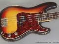 Fender Precision Bass 1963 top