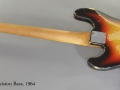 Fender Precision Bass 1964 full rear view