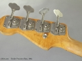 Fender Precision Bass 1964 head rear