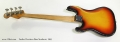 Fender Precision Bass Sunburst, 1965 Full Rear View