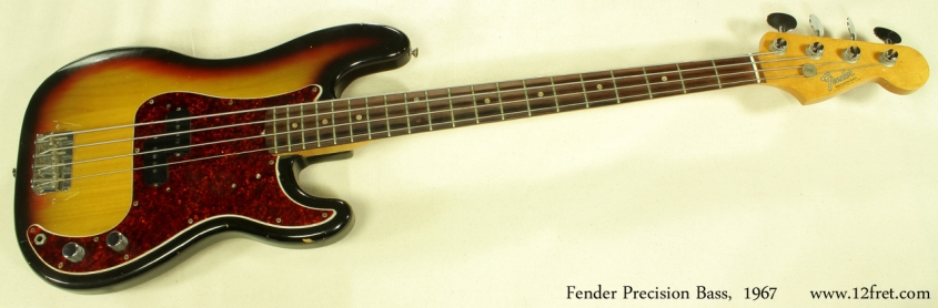 Fender Precision Bass 1967 full front view