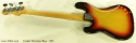 Fender Precision Bass 1967 full rear view