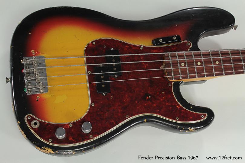 Fender Precision Bass 1967 top