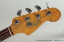 Fender Precision Bass 1967 head front view