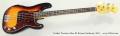 Fender Precision Bass 62 Reissue Sunburst, 2011 Full Front View