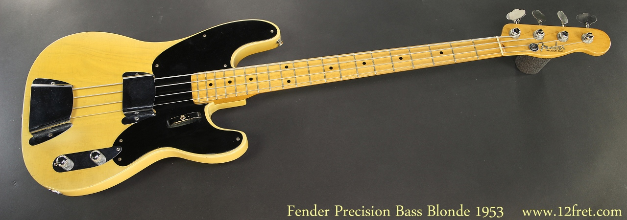 Fender Precision Bass 1953 Full Front View