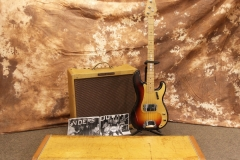 Fender Bassman 1957 and Precision Bass 1959 Group View