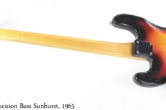 Fender Precision Bass Sunburst, 1965 Full Rear View