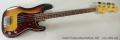 Fender Precision Bass Sunburst, 1967 Full Front View