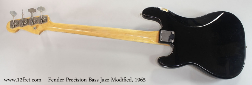 Fender Precision Bass Jazz Modified, 1965 Full Rear View