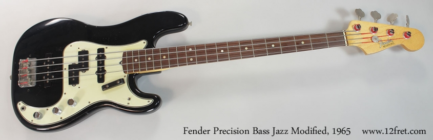 Fender Precision Bass Jazz Modified, 1965 Full Front View