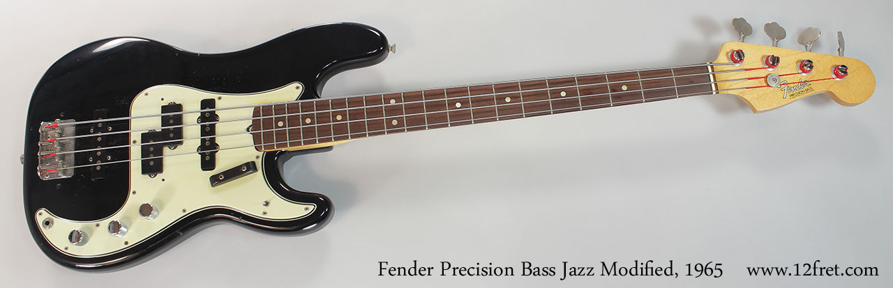 Circuito Jazz Bass Precision : Fender precision bass jazz modified fret