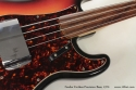 1970 Fender Fretless Precision Bass fingerboard detail