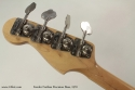 1970 Fender Fretless Precision Bass head rear view