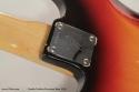 1970 Fender Fretless Precision Bass serial plate