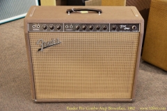 Fender Pro Combo Amp Brownface, 1962 Full Front View