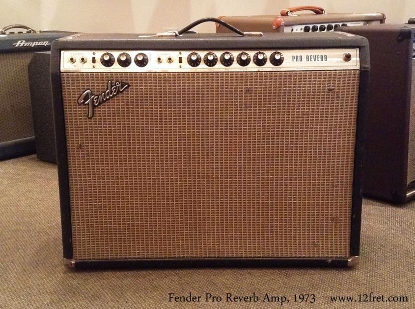 Fender Pro Reverb Amp, 1973 Full Front View
