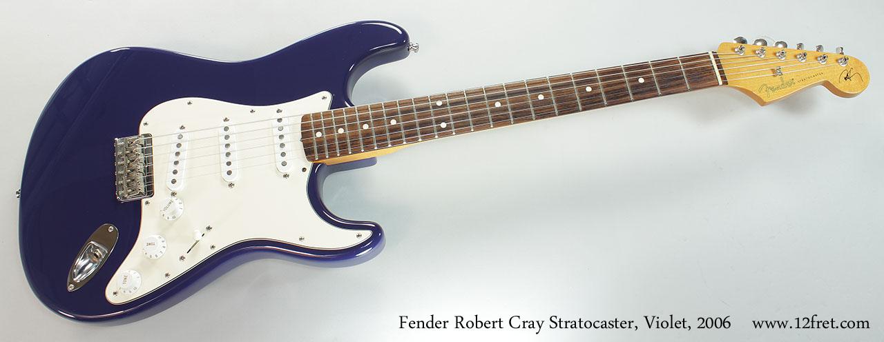Fender Robert Cray Stratocaster : 2006 fender robert cray stratocaster violet sold ~ Hamham.info Haus und Dekorationen