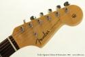 Fender Signature Edition 59 Strat head front