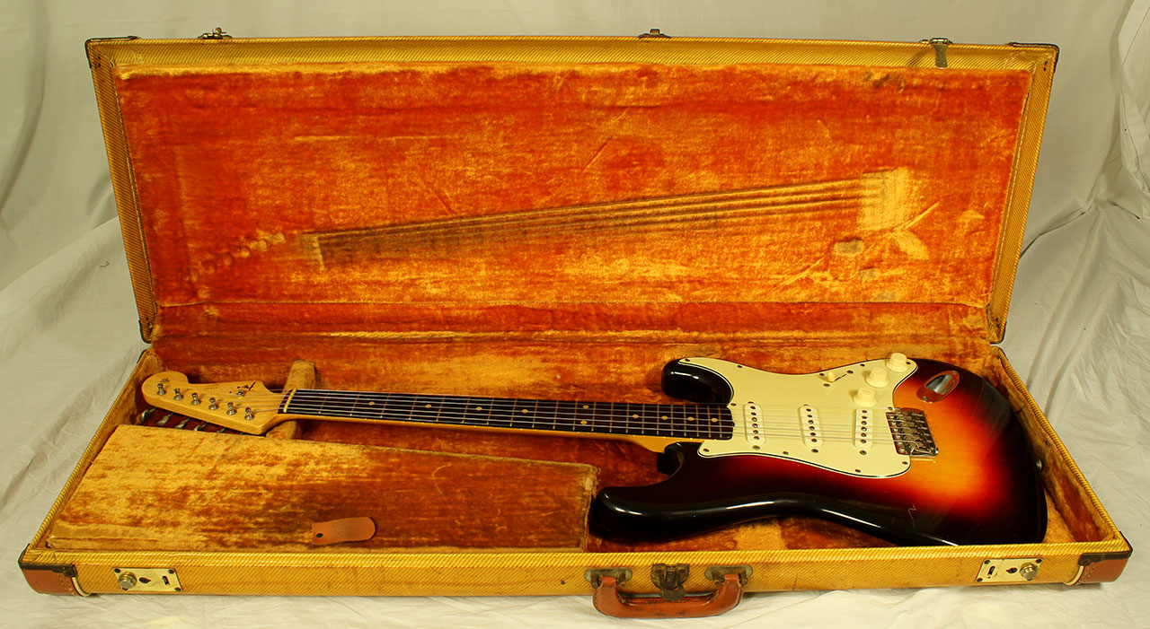 Bill Of Sale Example >> Fender Stratocaster, 1961 | www.12fret.com