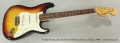 Fender Stratocaster Sunburst Solidbody Electric Guitar, 1969 Full Front VIew