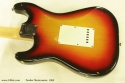 Fender Stratocaster Sunburst 1969 back