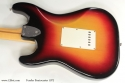 Fender Sunburst Stratocaster 1972  back