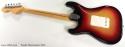 Fender Sunburst Stratocaster 1972 full rear view