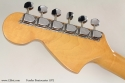 Fender Sunburst Stratocaster 1972 head rear